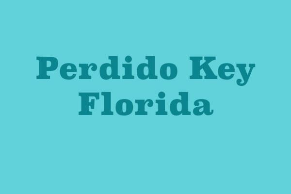 Perdido Key Florida Information